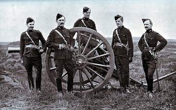 Gunners of the Royal Field Artillery
