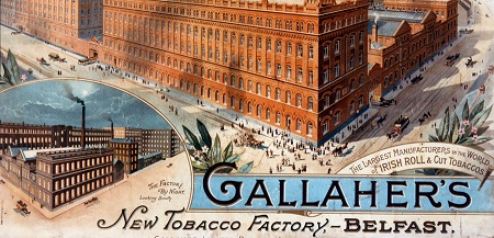 Gallagher's Factory Belfast.