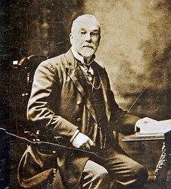 Tom Gallagher, founder of Gallagher's Tobacco Company.