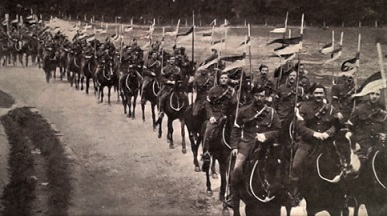 A British Lancer Regiment