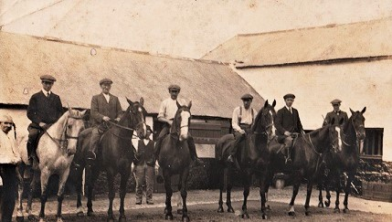 Stables at Nugent's Field off Church Road.