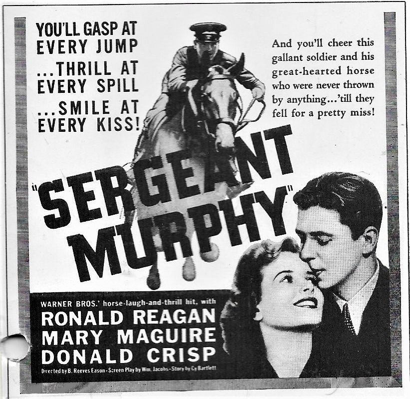 Ronald Reagan in the Sergeant Murphy Story