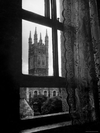 Bell-tower of St Barnabas Church , as seen from the O'Casey house